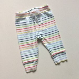 Baby Gap Rainbow Striped Pants * 3-6M
